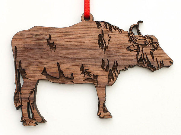 Water Buffalo Ornament