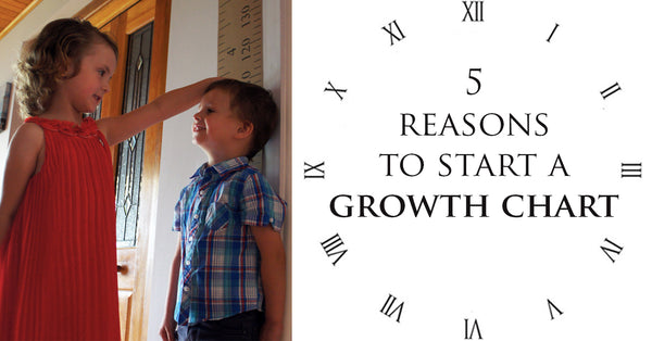 5 Reasons to start a family Growth Chart