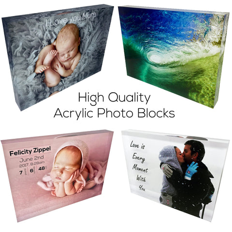 Acrylic Photo Block High Quality