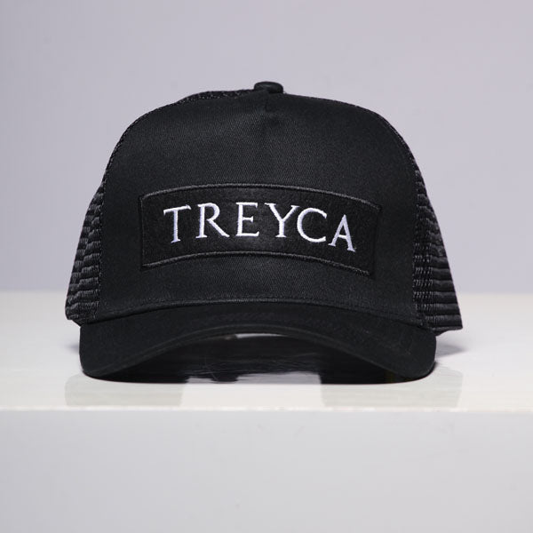 Treyca Trucker Cap - Black