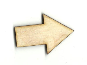 Arrow - Laser Cut Wood Shape Arw8 Craft Supply