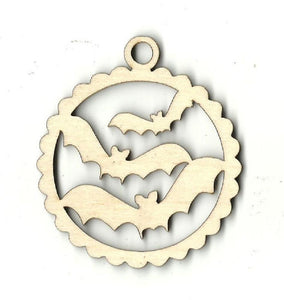 Bats - Laser Cut Wood Shape Bat5 Craft Supply