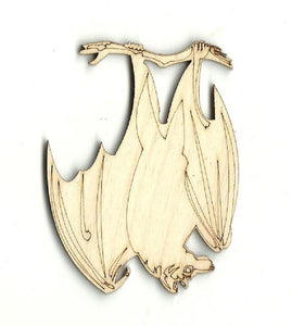 Bat - Laser Cut Wood Shape Bat6 Craft Supply