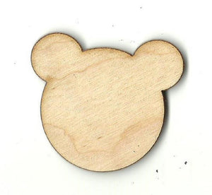 Bear - Laser Cut Wood Shape Ber23 Craft Supply