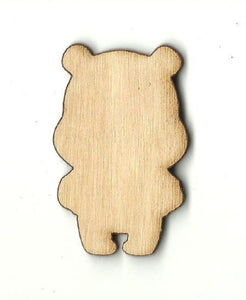 Bear - Laser Cut Wood Shape Ber26 Craft Supply