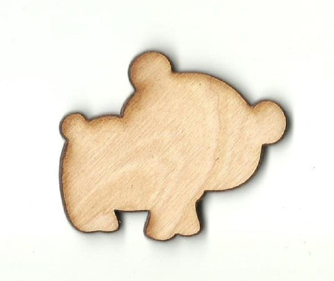 Bear - Laser Cut Wood Shape Ber29 Craft Supply