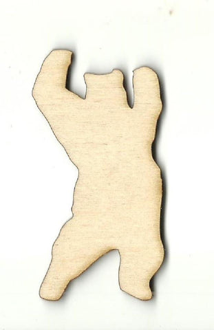 Bear - Laser Cut Wood Shape Ber34 Craft Supply