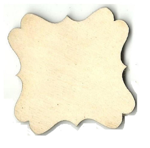 Plaque - Laser Cut Wood Shape Bsc26 Craft Supply