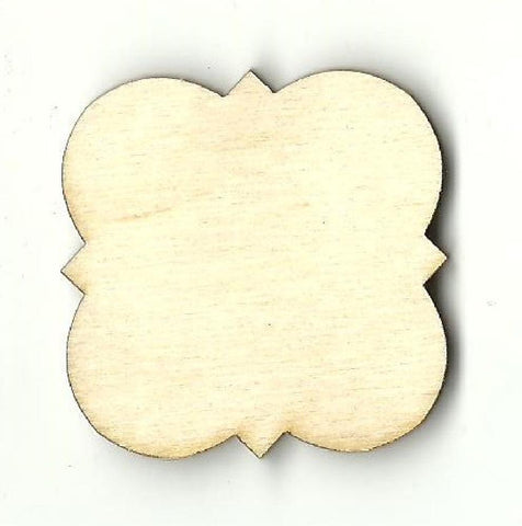 Plaque - Laser Cut Wood Shape Bsc27 Craft Supply