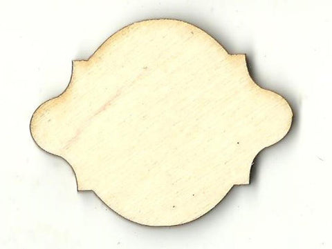 Plaque - Laser Cut Wood Shape Bsc28 Craft Supply