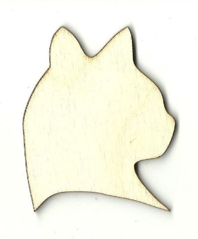 Cat - Laser Cut Wood Shape Cat42 Craft Supply
