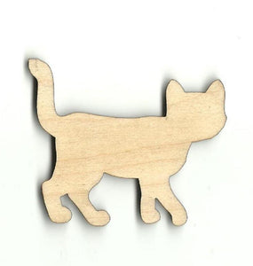 Kitty Cat - Laser Cut Wood Shape Cat36 Craft Supply