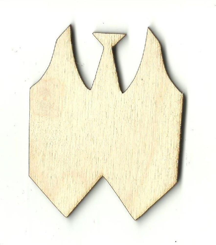Tie And Vest - Laser Cut Wood Shape Clt17 Craft Supply
