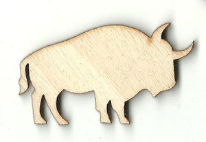 Bull - Laser Cut Wood Shape COW23