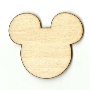Mickey Mouse - Laser Cut Wood Shape Dsy90 Craft Supply