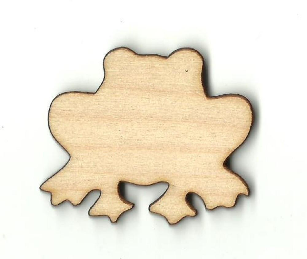 Frog - Laser Cut Wood Shape Frg17 Craft Supply