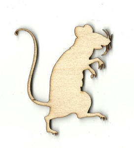 Rat - Laser Cut Wood Shape Rdt12 Craft Supply
