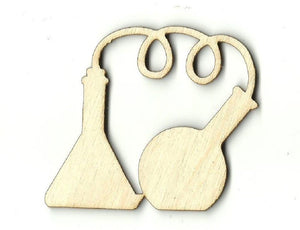 Laboratory Supplies - Laser Cut Wood Shape Snc5 Craft Supply
