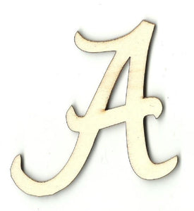Alabama - Laser Cut Wood Shape Spt124 Craft Supply