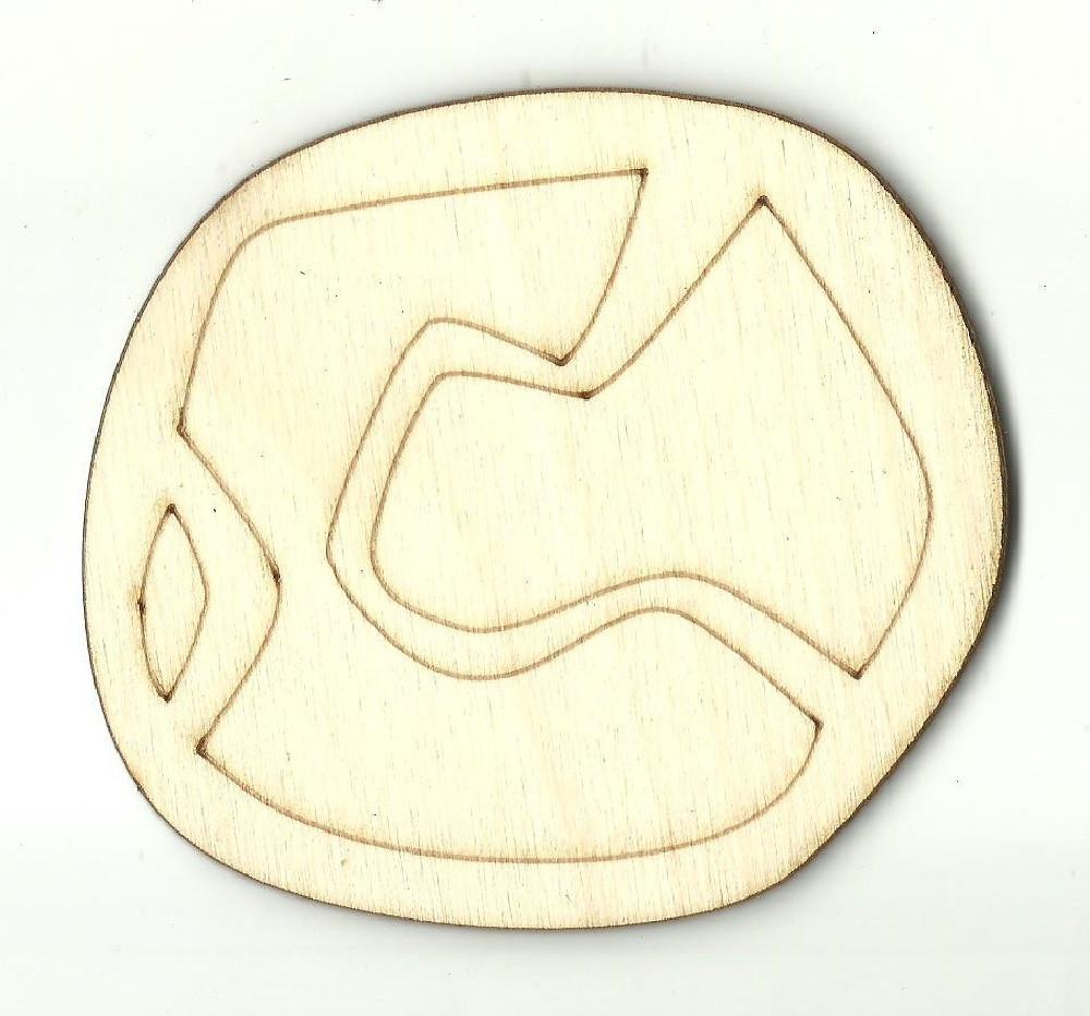 Baseball - Laser Cut Wood Shape Spt411 Craft Supply