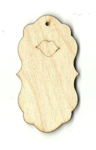 Gift Tag - Laser Cut Wood Shape Tag11 Craft Supply
