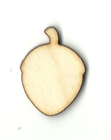 Acorn - Laser Cut Wood Shape Tre46 Craft Supply
