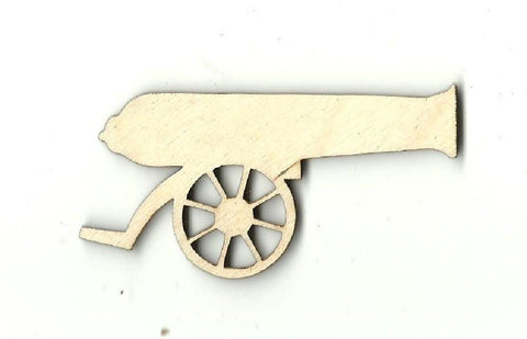 Cannon - Laser Cut Wood Shape Wpn5 Craft Supply
