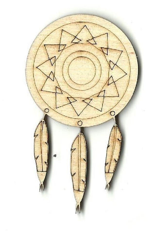 Dreamcatcher - Laser Cut Wood Shape Xtr12 Craft Supply