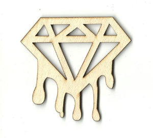 Diamond - Laser Cut Wood Shape Xtr32 Craft Supply