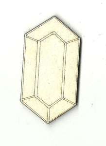 Diamond Gem - Laser Cut Wood Shape Xtr39 Craft Supply