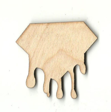Dripping Diamond - Laser Cut Wood Shape Xtr63 Craft Supply