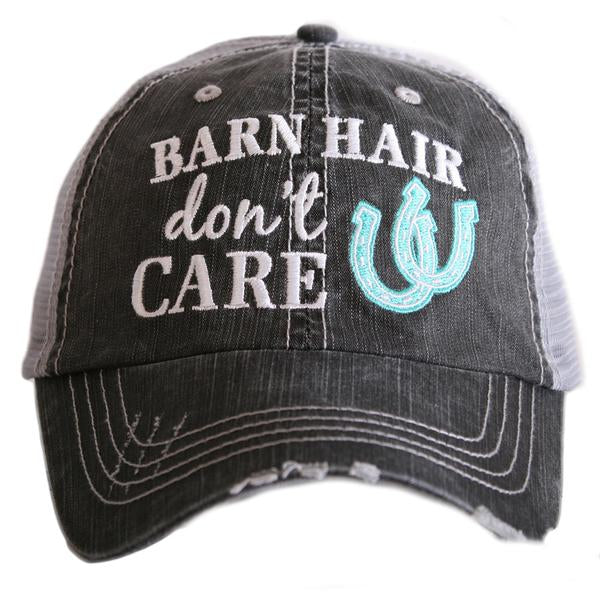 Katydid Barn Hair Don't Care Trucker Hat - 3 Color Choices