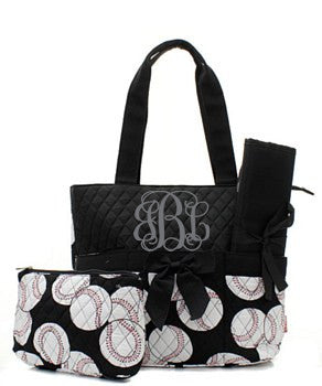 Baseball Diaper Bag