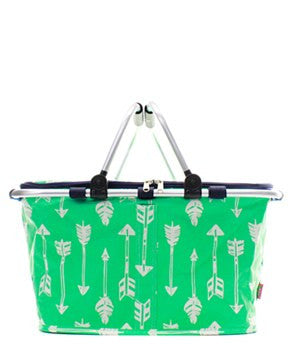 Insulated Picnic Basket Arrow - 2 Color Choices