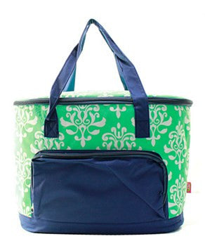 Insulated Cooler Damask Bloom - 2 Color Choices