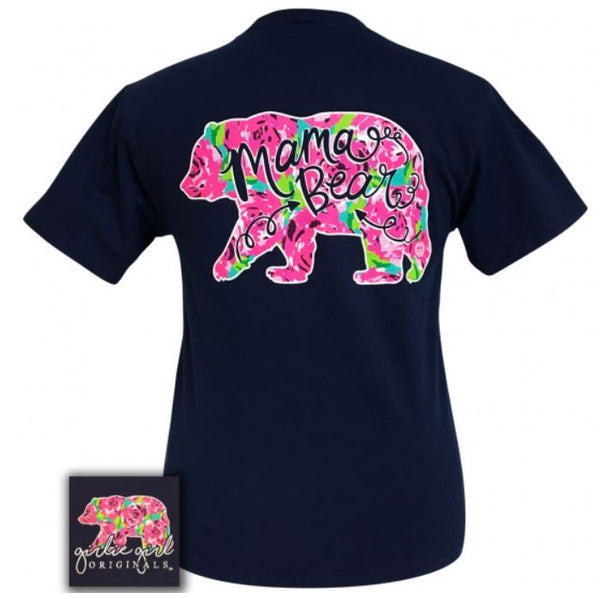 "GG ""Mama Bear"" Lilly Inspired Short Sleeve Tee SALE"