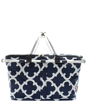 Insulated Picnic Basket Geometric