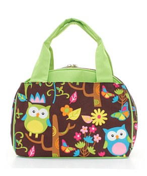 Lunch Tote Owl - 2 Color Choices