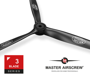 3-Blade - 15x7 Propeller Rev./Pusher - Master Airscrew - Multi Rotor/ Model Airplane Propellers