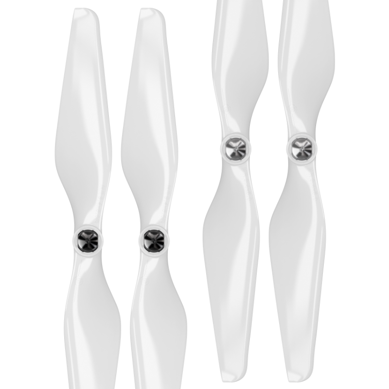 DJI Phantom Built-in Nut Upgrade Propellers - MR PH 9.4x5 Set x4 White - Master Airscrew - Multi Rotor/ Model Airplane Propellers