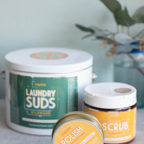Botanical Laundry Suds - Gather Goods Co - Raleigh, NC