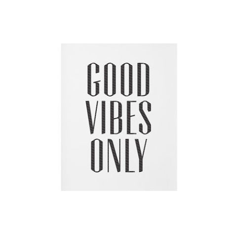 Good Vibes Only, 11x14 Print - Gather Goods Co - Raleigh, NC