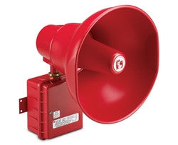 b. ASHH / ASUH Fire Alarm RED Hazardous Location Spkr/Amplifiers