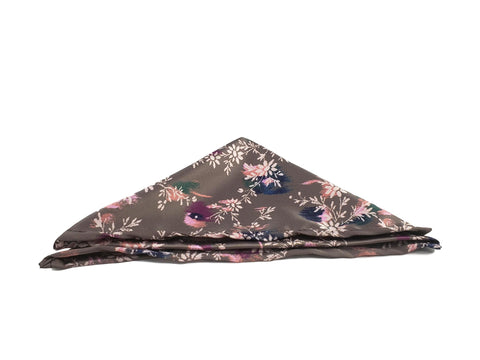 Grayish colourful pocketsquare