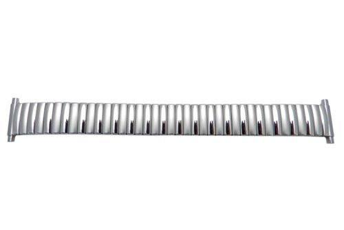 Bandino Brushed And Polished Stainless Steel 16-23mm Expansion Watch Band