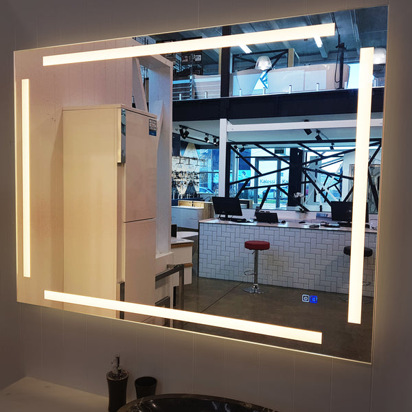 Touchscreen LED Mirror with Demister