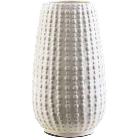 Clearwater Vase ~ White/Ivory - Cece & Me - Home and Gifts