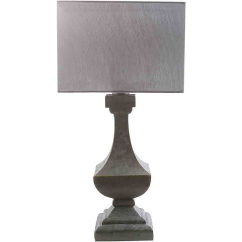 Oceanside Outdoor Table Lamp ~ Pewter & Gray - Cece & Me - Home and Gifts