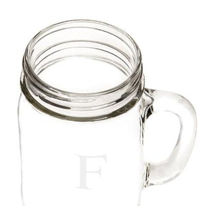 Personalized 16 oz. Old Fashioned Drinking Jars (Set of 4)