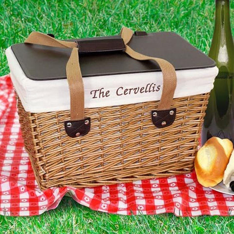 Personalized Picnic Basket - Cece & Me - Home and Gifts